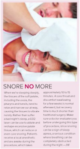 Snoring Health/Wellness