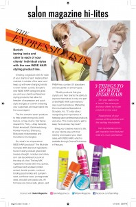 CosmoProf Shopping Guide Salon Magazine 'Hi-Lites'